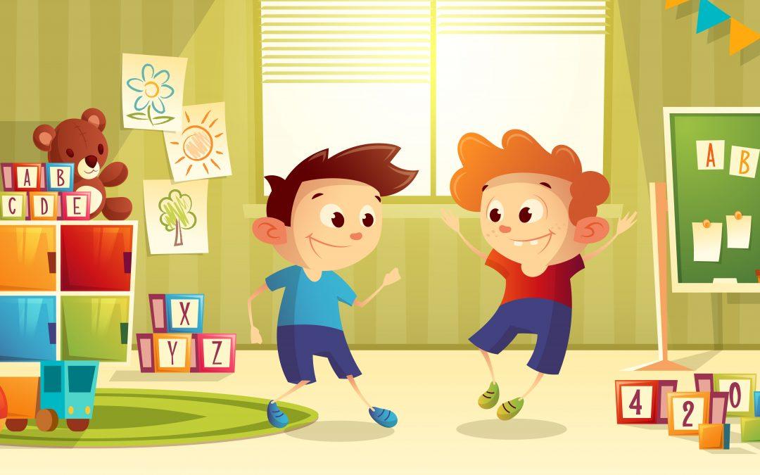 Pierwszy dzień – powrót do przedszkola